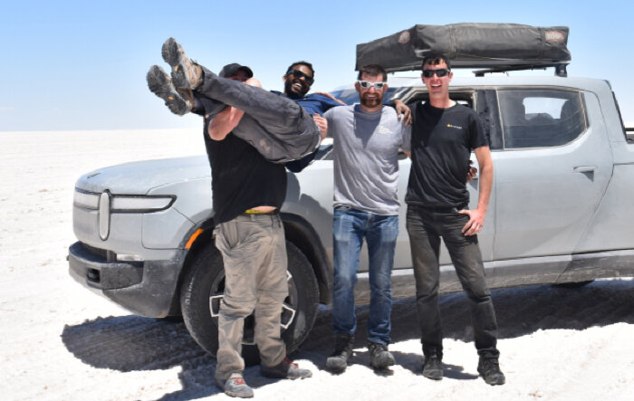 New jobs posted today providing insight into Rivian's summer test drive tour plans